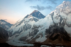 Changtse, Everest and Nupste (radson1) Tags: nepal expedition climb climbing mountaineering 2008 everest himalayas nuptse mounteverest everestbasecamp khumbuicefall changtse radson altitudejunkies