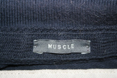 Real 'muscle' label