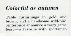 Sportsmen's dinner BHG ca 1960 text