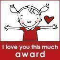 I love you this much award logo