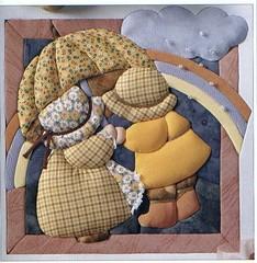 Modelo 02 (Lucia Helena Cesar) Tags: feltro desenhos figuras riscos moldes patchcolagem