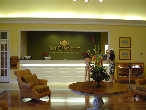 The Front Desk at South Beach Resort Inside the Owners' Club