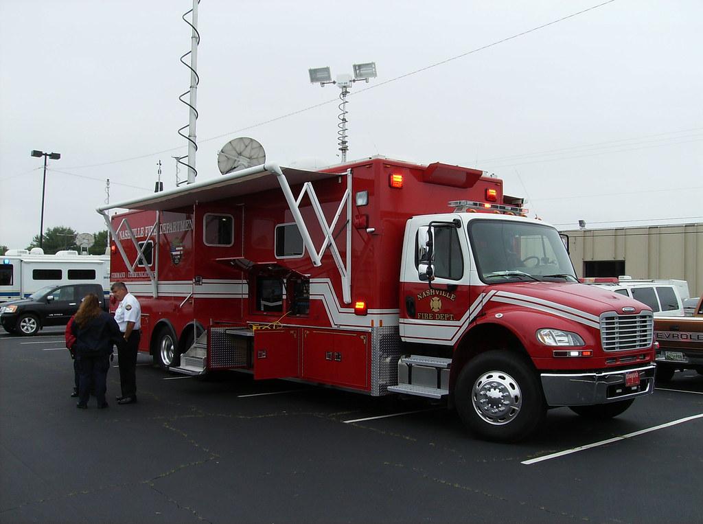 Nashville (TN) FD Command Post