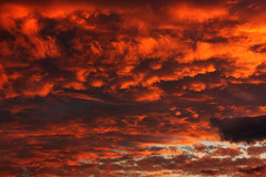 Fire on sky! (digikuva) Tags: red sky cloud sunrise canon finland helsinki rojo europe heiluht 1000 artisticexpression efs1785mm img0514 40d anawesomeshot wowiekazowie canoneos40d roholahti