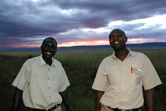 new favorites (d_rimbo) Tags: africa trip travel sunset eric kenya dusk safari guides titus gamepark masaimara