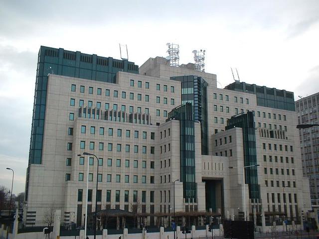 MI6 Building Vauxhall