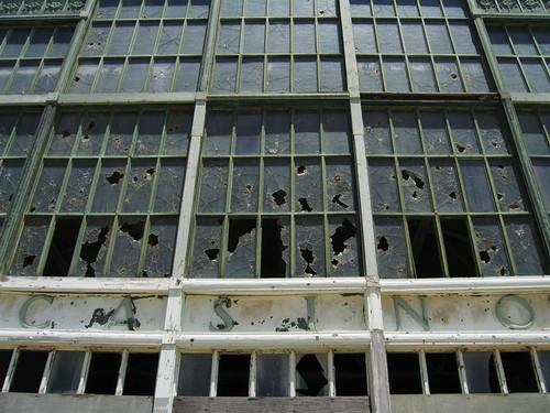 Broken windows on the Casino