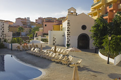 Small pool #2 (michaelgrohe) Tags: ocean vacation costa holiday pool island hotel kanaren canarias atlantic tenerife teneriffa riu vulkan inseln adeje