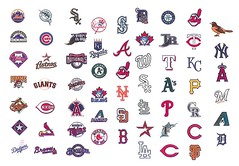Baseball Team Logos (cangaroojack) Tags: collage emblem logo us teams baseball badge badges insignia clevelandindians logos chicagocubs bostonredsox atlantabraves newyorkyankees milwaukeebrewers seattlemariners newyorkmets sanfranciscogiants pittsburghpirates baltimoreorioles cincinnatireds kansascityroyals floridamarlins wappen torontobluejays stlouiscardinals minnesotatwins philadelphiaphillies oaklandathletics sandiegopadres washingtonnationals americanleague chicagowhitesox losangelesdodgers coloradorockies houstonastros nationalleague majorleaguebaseball losangelesangelsofanaheim tampabayrays