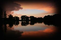 IMG_2632 (LarryHB) Tags: sunset lake rain rural landscape missouri benton semo