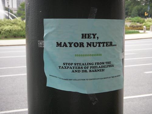 Hey, Mayor Nutter...