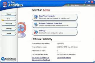PC Tools AntiVirus Free Edition
