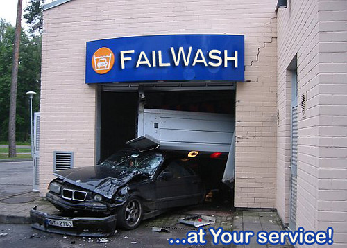 Don't go to this car wash!