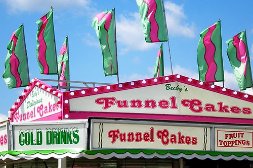 Funnel cakes - yum!