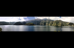 Laguna Cuicocha - Ecuador Panoramic (Fotografo de Bodas Quito (Insight Photography )) Tags: panorama lake ecuador panoramic otavalo 28135mmis cotacachi cuicocha lagunacuicocha canon40d enriquecaleroh fotografoquito fotografobodasquito