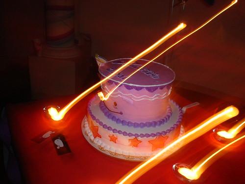 Pastel de aniversario!