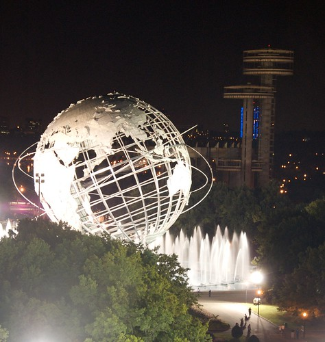 Unisphere and Observatory Towers