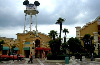 Eingangsbereich Disney Studios