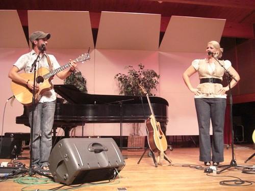Josh Wilson and Tara Leigh Cobble