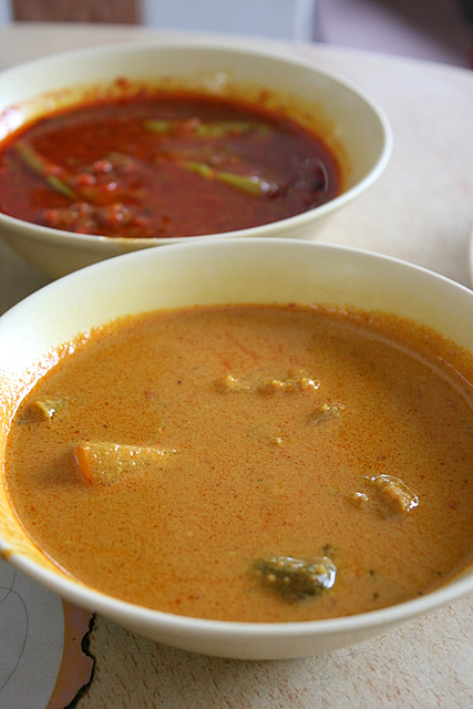 Assam gravy and a delicious curry gravy