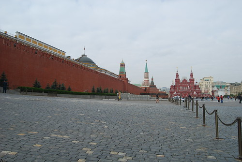 The Walls Of The Kremlin