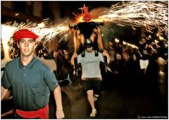 Fiesta del toro de fuego