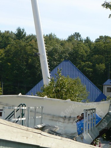 Bobsled on last curve