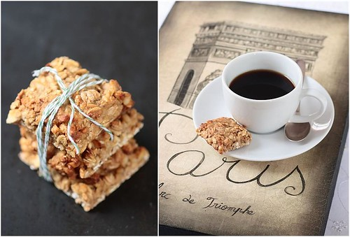 Breakfast Thoughts: Lavender Oatmeal Squares
