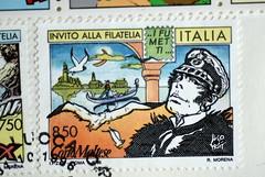 francobollo Corto Maltese 1996 Italia - photo Goria - click per i dettagli
