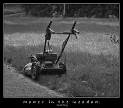 mower in the meadow (Ef-stop:::::::) Tags: grass meadow machinery mower