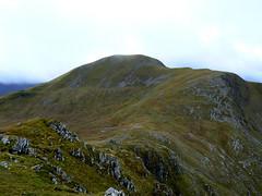 The ridge to Sgurr nan Ceannaichean
