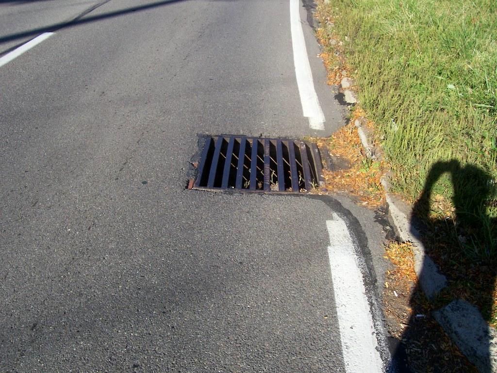 dangerous longitudinal drain grates - BikePGH : BikePGH