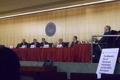 SEC roundtable on disclosure