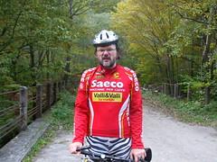 dscf5444 (hr.icio) Tags: selfportrait cycling most wiadukt tomaszprzechlewski geo:lon=18471989 geo:lat=54447047