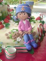 ginger snap (The Whole Cake and Caboodle ( lisa )) Tags: cake strawberry strawberryshortcake gingersnap shortcake buttercream orangeblossom caboodle angelcake fondantaccents