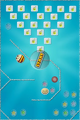 iPhone App: Dizzy Bee