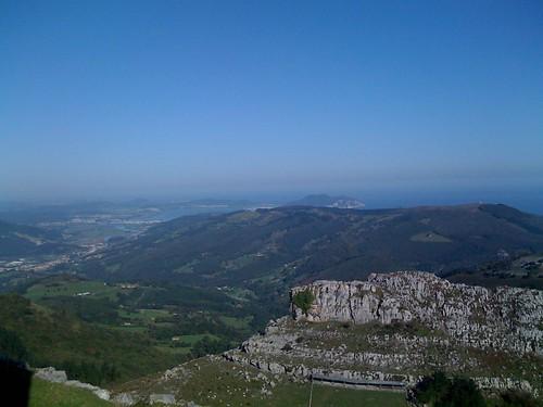 Colindres from Pico de las Nieves