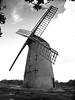 Bidston Windmill (simonwilbraham) Tags: blackandwhite windmill wirral bidston bidstonwindmill