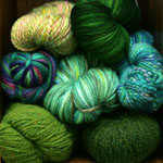 Colleen Loves Green, and We Love Colleen ~Yarn Raffle~