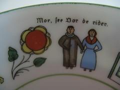 Norwegian Teacup Detail