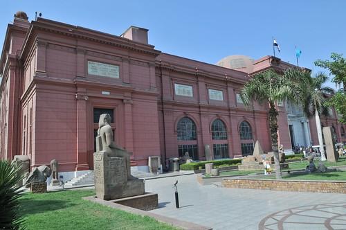 Il Museo Egizio del Cairo. Il Cairo, Egitto.