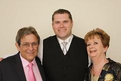 Dad, Nick, and Mum (Craig Hall Photography) Tags: canon nick marriage weding brisbane risi dlsr aleah 40d zultarn craigs1