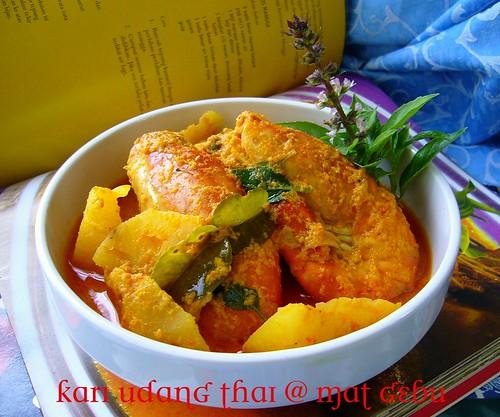 Kari Udang Thai