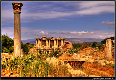 The Celsus Library (j glenn montano 3) Tags: city history john ancient historian library glenn mary virgin baptist bible gospel biblical montano selcuk ephesus celsus anatolia the justiniano aplusphoto colourartaward