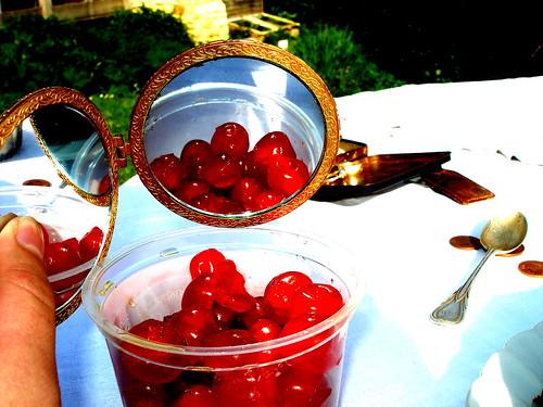 cherry contrast