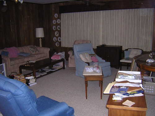 Post-Move In: Family Room