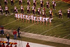 USC Cheerleaders (Are Nold Rob Bore) Tags: cheerleaders band marching usc trojans