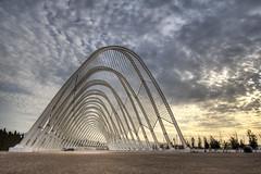 oaka - calatrava (helen sotiriadis) Tags: architecture canon 350d published athens greece calatrava olympics canonrebelxt oaka canonefs1022mmf3545usm marousi toomanytribbles