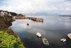Roundstone harbour, County Galway (Erik's pictures) Tags: ireland galway boats connemara roundstone connaught 12bens
