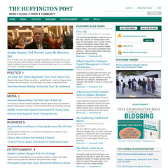 Redesign of the Huffington Post